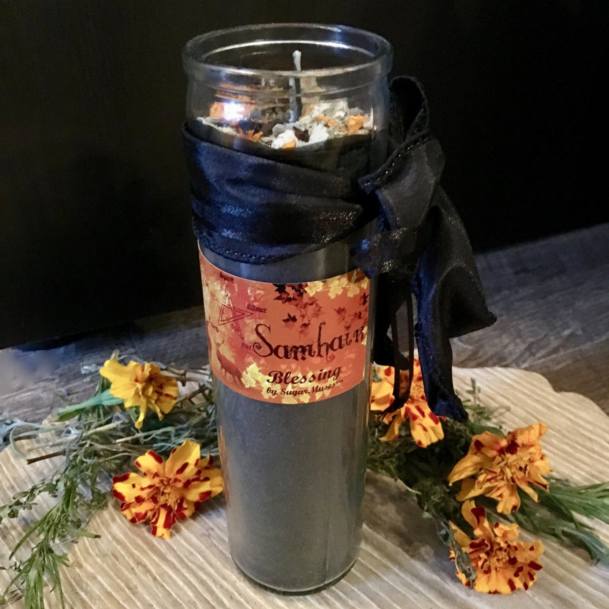 Samhain Candle, Candles - SugarMuses