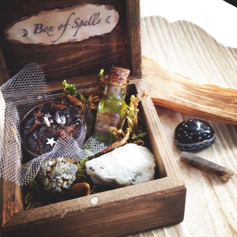 Witches Box of Spells ™, Spell Kit - SugarMuses