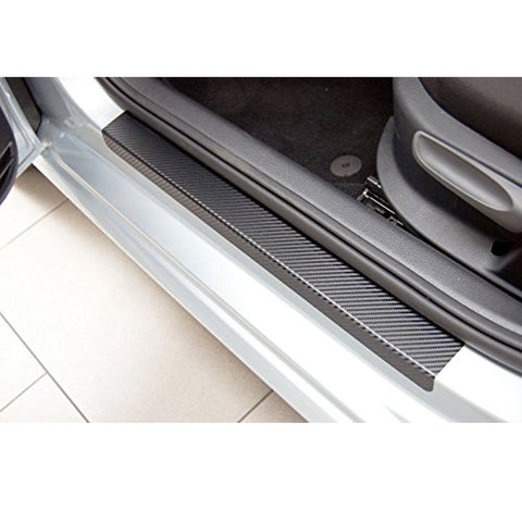 Ford Fiesta (09-17) carbon fibre effect door scuff plates