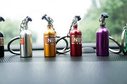 NOS BOTTLE KEYRING