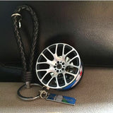 BBS alloy wheel key chain