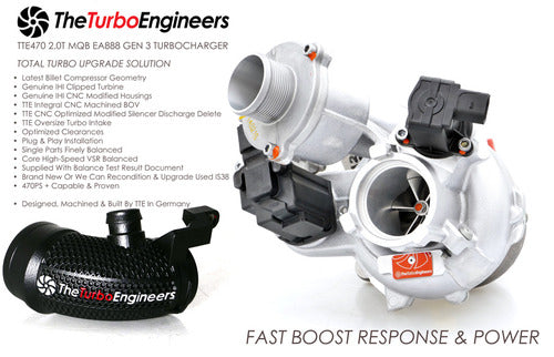 TTE470 turbo kit