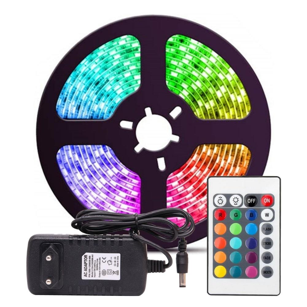 LED STRIP LIGHT W/ REMOTE - GearLegends