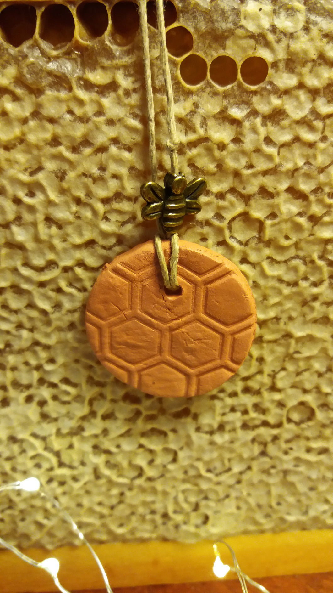 Terracotta Pendant ( Essential Oil Diffuser)