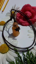Mini Honey Bottle with Bee Necklace