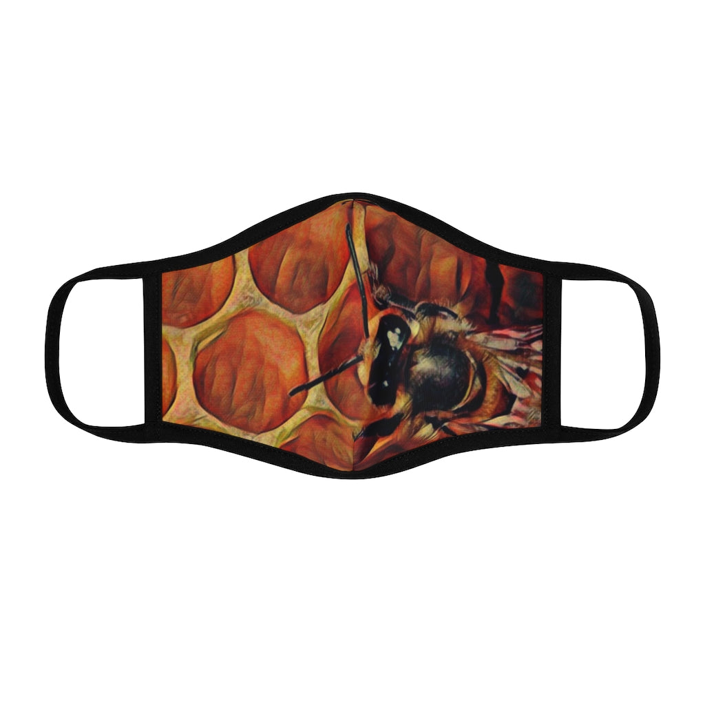 HONEYCOMB POLYESTER BEE MASK