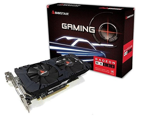 REFURBISHED Biostar Radeon RX 580 8GB GDDR5 - hashrate.co.za