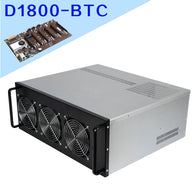 4U Server Mining Rig Case with Onda D1800 Motherboard Kit - hashrate.co.za
