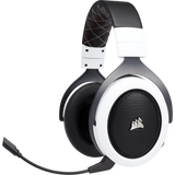 Corsair HS70 WIRELESS Gaming Headset — White - hashrate.co.za