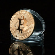 Bitcoin Commemorative Collectors Coin - hashrate.co.za