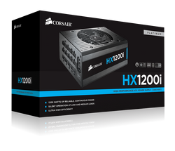 Corsair HXi1200 Fully Modular Platinum Power Supply - hashrate.co.za