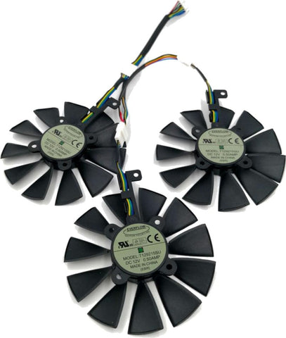 Asus Strix Replacement Fan Set 87mm - T129215SU