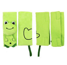 Animal Car Seat Pals (Green/Yellow)