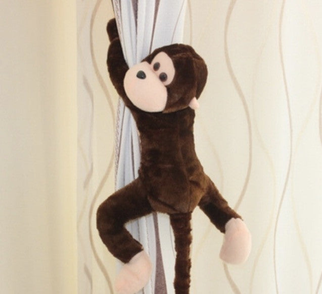 Monkey Soft Plush (Dark Brown)