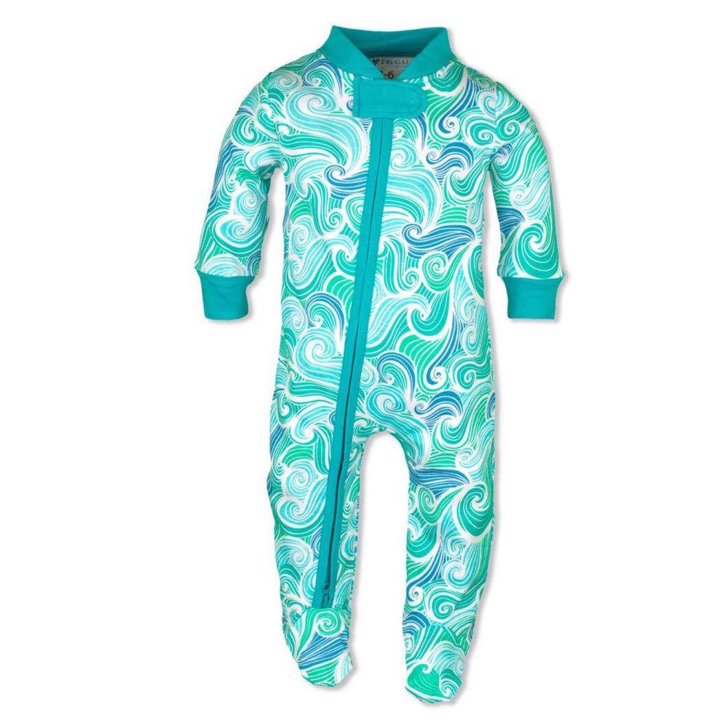 100% Organic Cotton Zipper BabyGrow