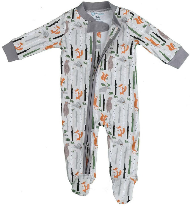 100% Organic Cotton Zipper BabyGrow - UNISEX
