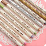 STA Metallic Marker Pen Set, Bullet Tip, Waterproof for Art Journaling, Doodle, Drawing, Crafting