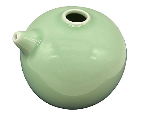 Easyou Porcelain Water Dropper Container for Calligraphy and Painting Ceramic Oriental Art Supply Color: Jade