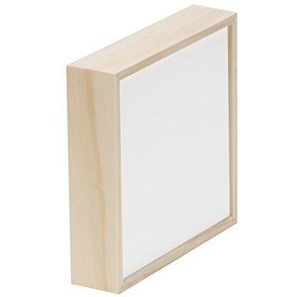 "Da Vinci Pro Liquid Art Panel, 1.5"" Deep Sides, 12"" x 12"" Square, 1/8"" Lip"