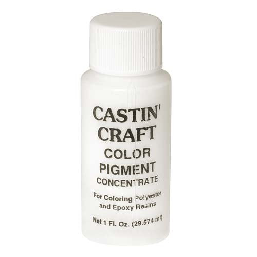 CASTIN CRAFT Casting Epoxy Resin Opaque Pigment Dye, White, 1-oz