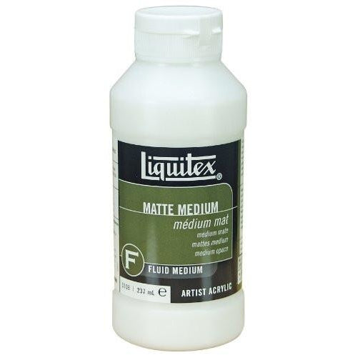 Liquitex Professional Matte Fluid Medium, 8-oz