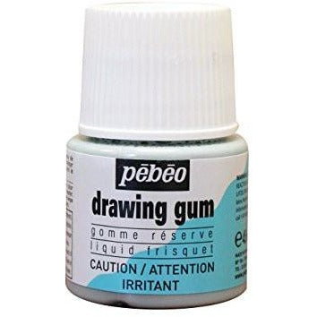 Pebeo Drawing Gum Masking Fluid, Frisket, 45 ml Bottle