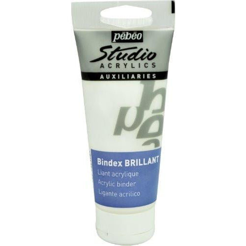 Pebeo Studio Acrylics Bindex Gloss 100ml Tube