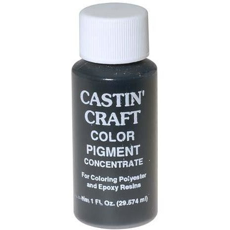 CASTIN CRAFT Casting Epoxy Resin Opaque Pigment Dye, Black, 1-oz