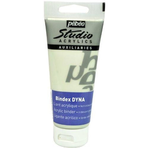 Pebeo Studio Acrylics Bindex Dyna, 100ml tube Green