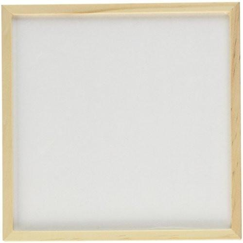 "Pebeo Liquid Art Panel Classic 3/4"" Deep Sides, 6"" x 6"" Square, 1/8"" Lip"