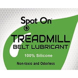 100% Silicone Treadmill Belt Lubricant - Easy Squeeze / Controlled Flow Premium Lube