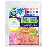 Gel Press Reusable Gel Printing Plate 8 x 10 Inch Rectangle
