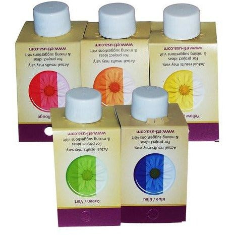 Castin' Craft Set of 5 Transparent Color Dyes for Resin, 1-oz per Bottle