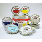 Enkaustikos Encaustic Wax Paint Starter Hot Cakes Set 6 Wax Paint and Medium Tins Plus 1 Bonus Tin for a Color of Your Choice