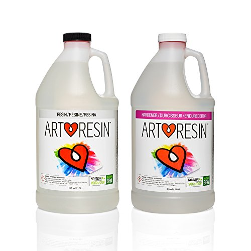 ArtResin™ - Epoxy Resin - Clear - Non-toxic - 1 gal ( 3.78 L )