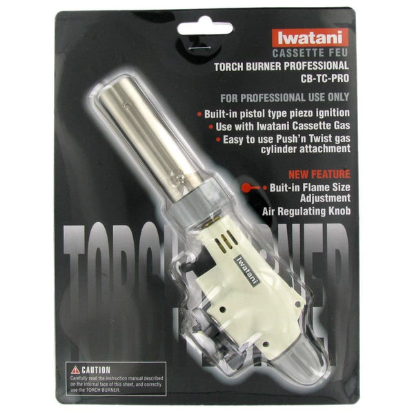 Iwatani Pro Torch - Professional Butane Torch Burner