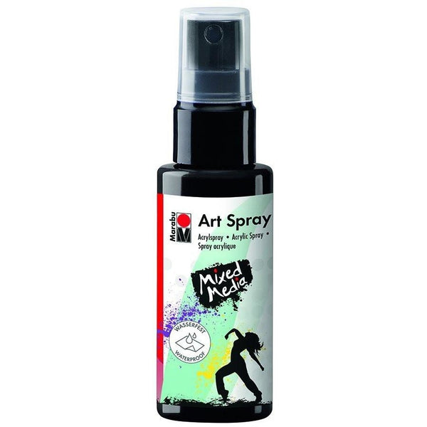Marabu Mixed Media Acrylic Art Spray 50 ML Black