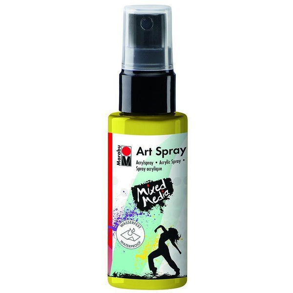 Marabu Mixed Media Acrylic Art Spray 50 ML Lemon Yellow
