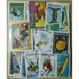 Postage Stamps 500 Piece Collections From All Over the World With Post Mark Stamps Postal Used For Collecting and Mixed Media Art Collage Artwork
