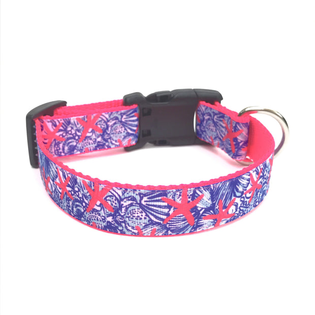 'Under The Sea' Lilly Pulitzer Inspired Dog Collar