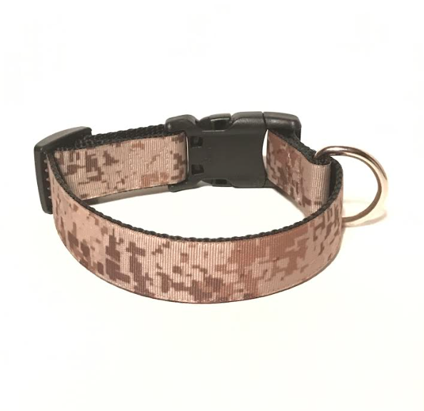 'Proud Marine' Marine Digital Camo Combat Dog Collar