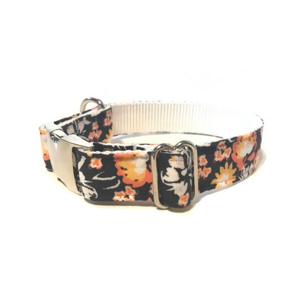 'Mae' Fall Floral Dog Collar