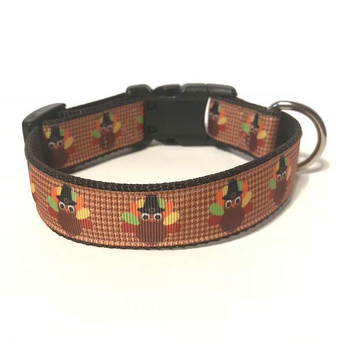 Turkey Day Charitable Dog Collar