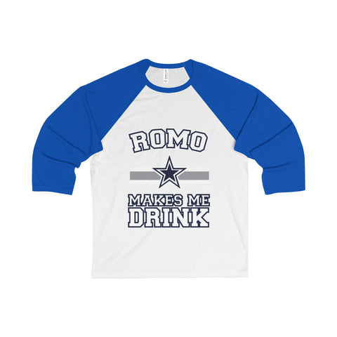 Dallas Cowboys 3/4 sleeve