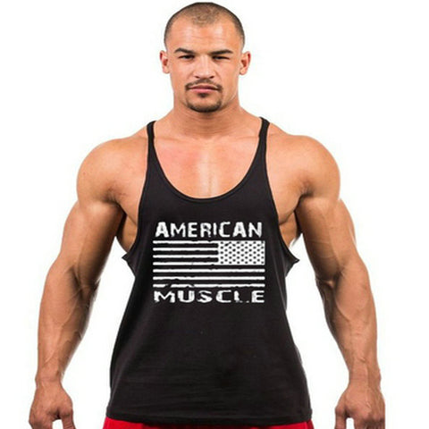 American muscle tank top