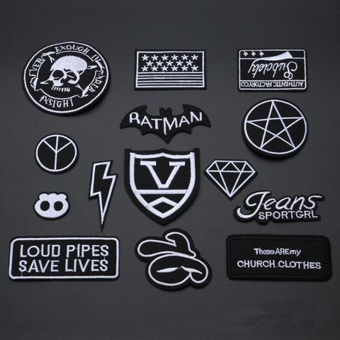 Military style patches