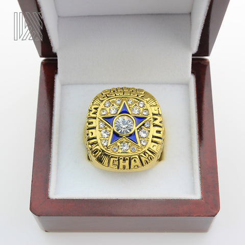 Dallas Cowboys Roger Stauback Ring With Box