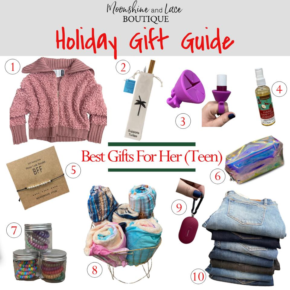 Holiday 2020 Gift Guide For Her (Teen)