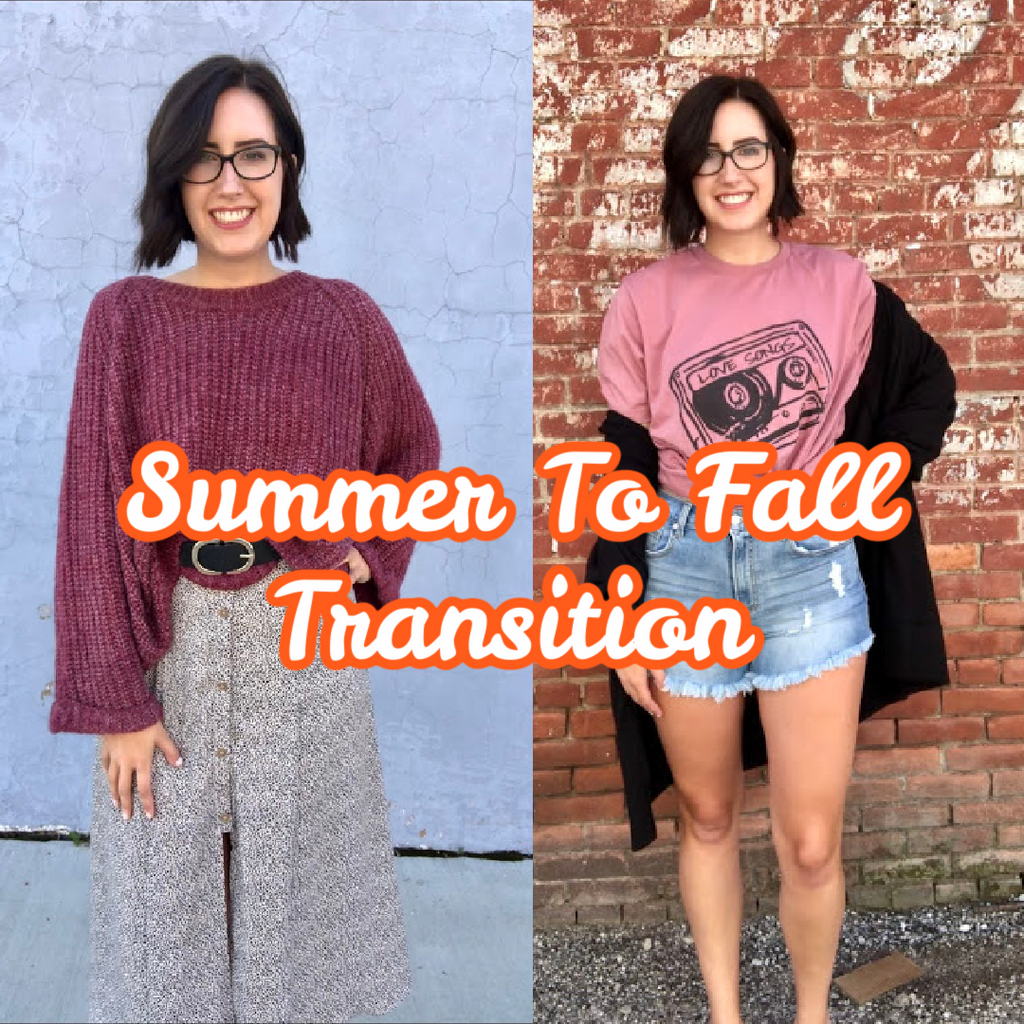 Creating the Perfect Fall Transition Wardrobe