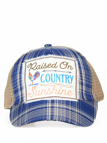 Raised on Country Sunshine Hat-Hats-Moonshine and Lace Boutique